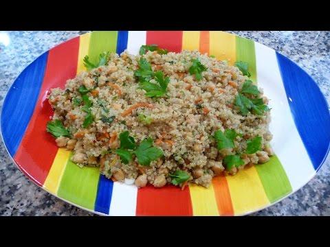 Quinoa and Garbanzo Salad