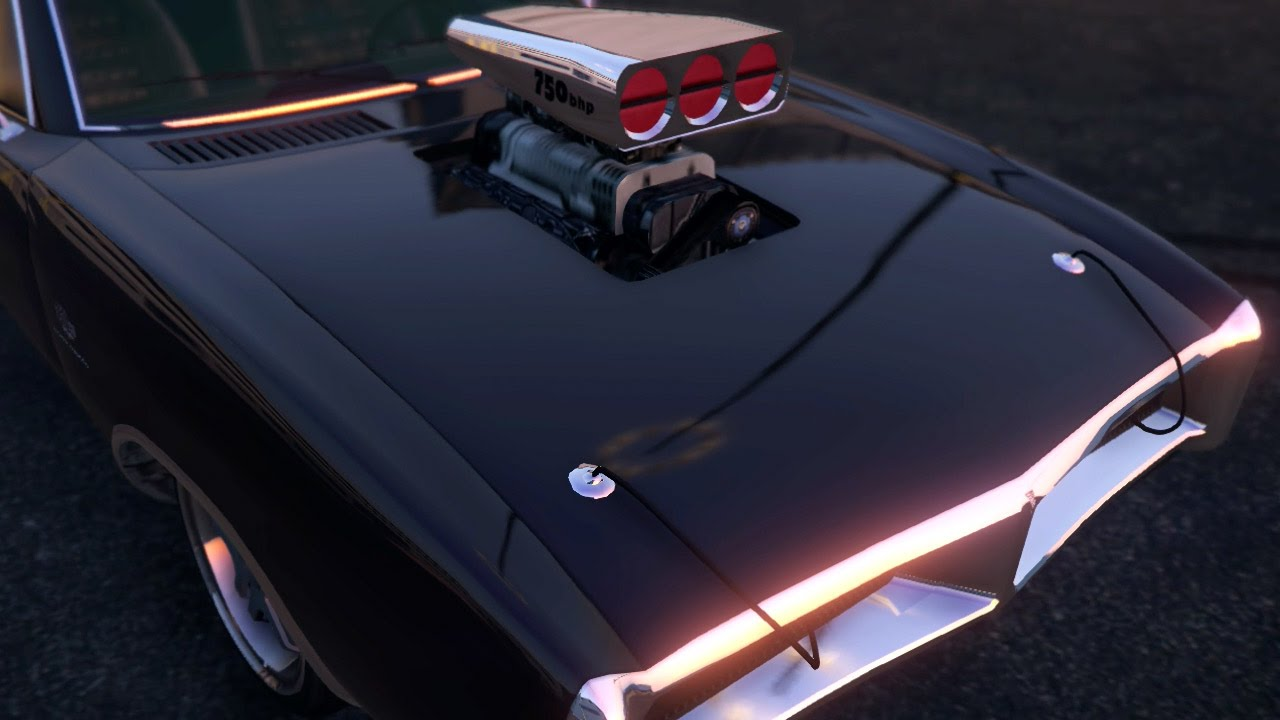 Gta 5 custom car build imponte dukes dodge charger next gen xbox one