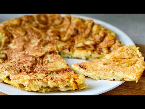 la-vrai-recette-de-la-tortilla-de-pommes-de-terre-espagnole-🇪🇸🥔🥚-facile-et-rapide.-deli-cuisine