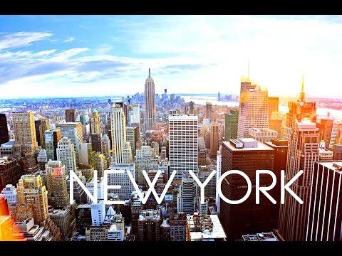 New York City - By Drone (HD) / Нью-Йорк - с квадрокоптера 4к