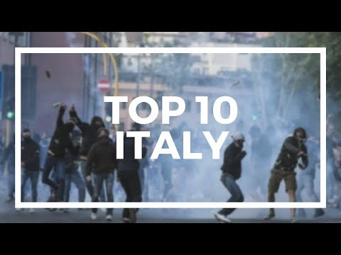 TOP 10 ULTRAS : ITALY