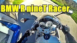 BMW R nineT Racer Test Ride. Albufeira