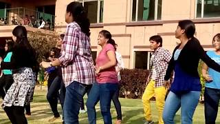 Flash Mob Dance For Bollywood & South Indian Songs Part II - Dell Funtastic Friday - Sreekanth Adari