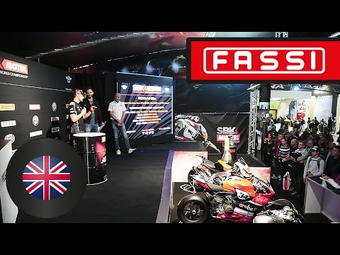 World Championship SBK with Fassi at the Milano EICMA fair
