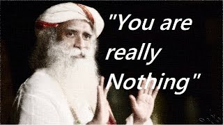 Sadhguru-   I am not really a person, that's my problem