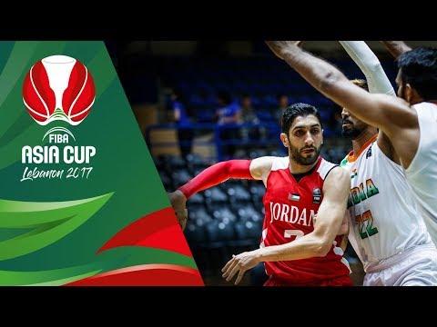 India v Jordan - Full Game - FIBA Asia Cup 2017