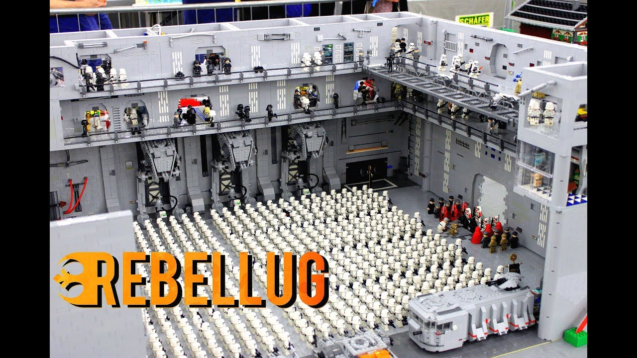 BEST LEGO MOCS at Bricking Bavaria 2018! EPIC, INSPIRATIONAL LEGO MOCS,  Star Wars, LOTR