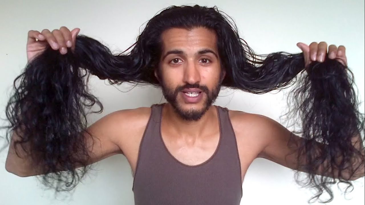 58 month indian hair update | men's natural long hair journey