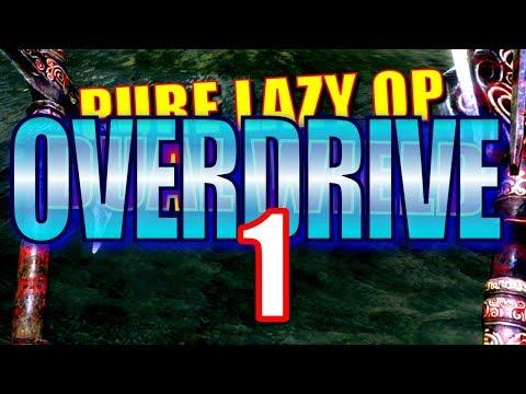 Skyrim Pure Lazy OP Dual Wield OVERDRIVE Walkthrough Part 1: Final Descent, Hidden Knowledge thumbnail