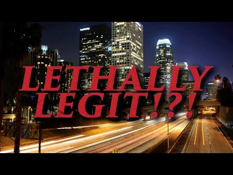 Clayne Crawford & Damon Wayans Play 'Lethally Legit'