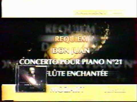 Publicité CD musique classique YouTube