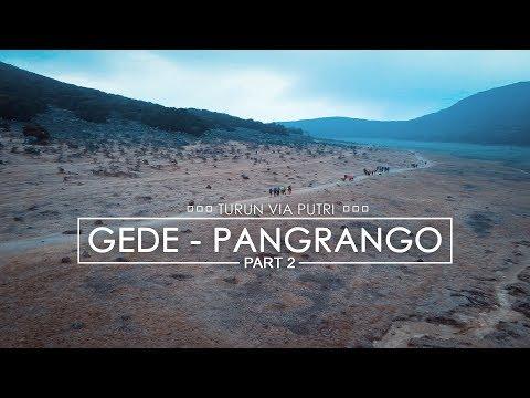 Pendakian Gede Pangrango Part 2 - Cibodas Lintas Putri - 동영상