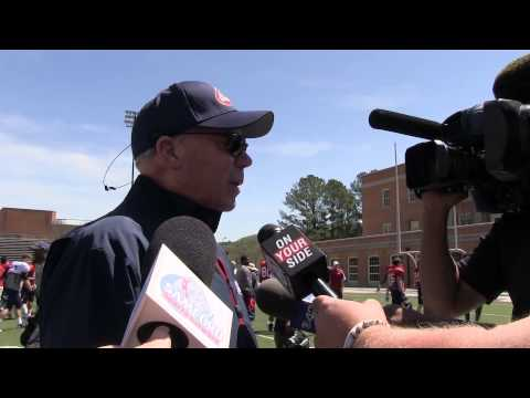 Samford head coach Pat Sullivan after Saturday