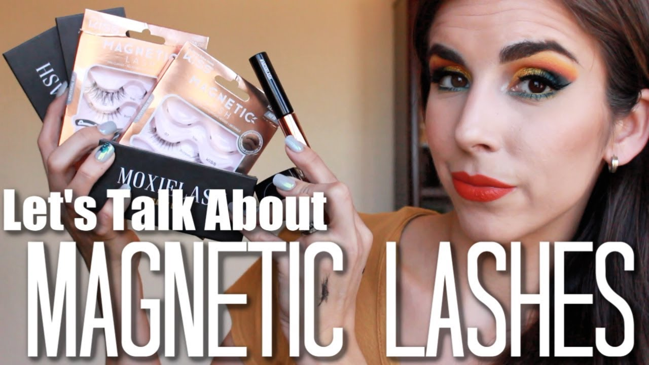 a1c01cf6b31 Let's Talk About MAGNETIC LASHES | How to Use Magnetic Liner | Moxie Lash,  KISS | Katie Marie