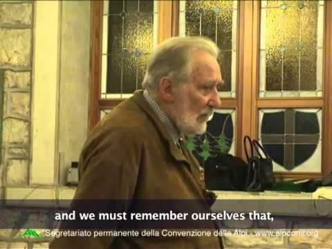 Mario Rigoni Stern for the Alpine Convention: Peace in war
