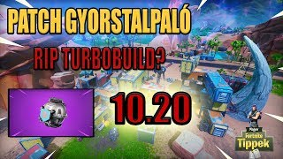 So much about turbo build? | 10.20 Patch Guide [Fortnite]