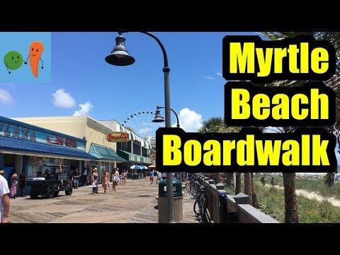 MYRTLE BEACH BOARDWALK TOUR!