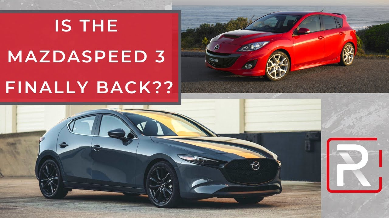2021 Mazda 3 Turbo – Redline: First Look - YouTube