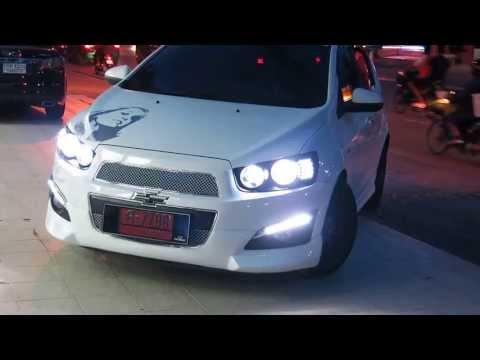 Chevrolet Sonic Hatchback อุปกรณ์ตกแต่ง เชฟโรเลต โซนิค5ประตู