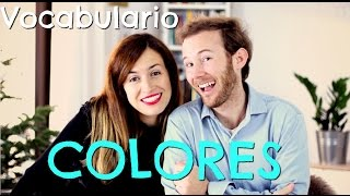 Vocabulario: COLOURS - Clase de inglés