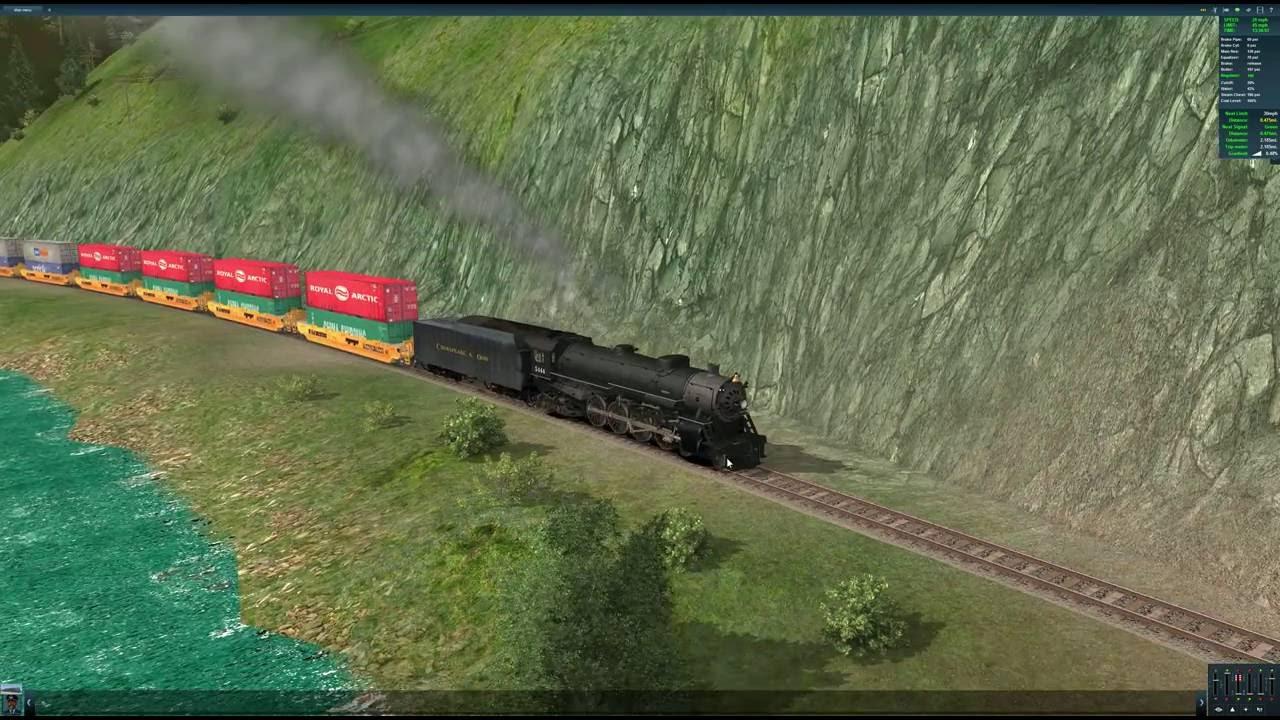 Trainz A New Era 4-8-4 Northern Steam