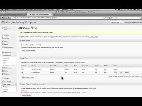 Comment intégrer un lecteur vidéo sur votre blog wordpress