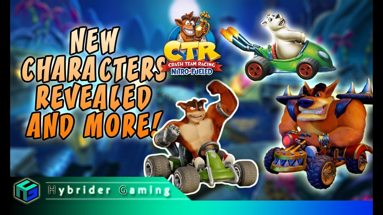 New Characters Revealed, Trailer, Tiny Temple and MORE! | Crash Team Racing  Nitro-Fueled