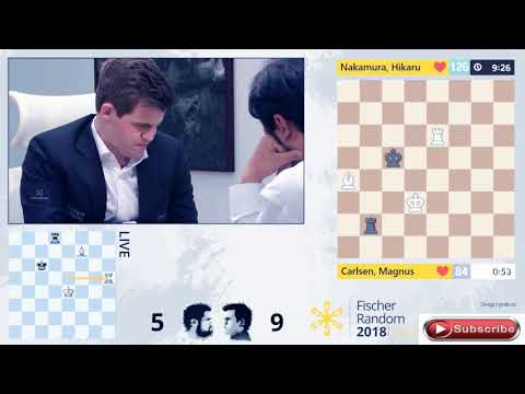 The Final Exciting Moment When carlsen lost on time in chess960 against Nakamura