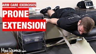 Prone Extension Exercise - Arm Care Shoulder Program
