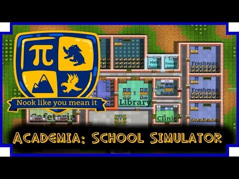 Academia: School Simulator - (School Building / Management Game)