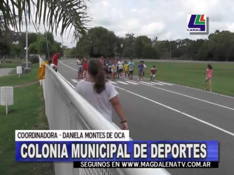 Comenzó la colonia municipal de deportes