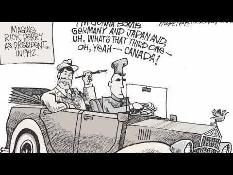 Inside the Mile High: Denver Post cartoonist Mike Keefe