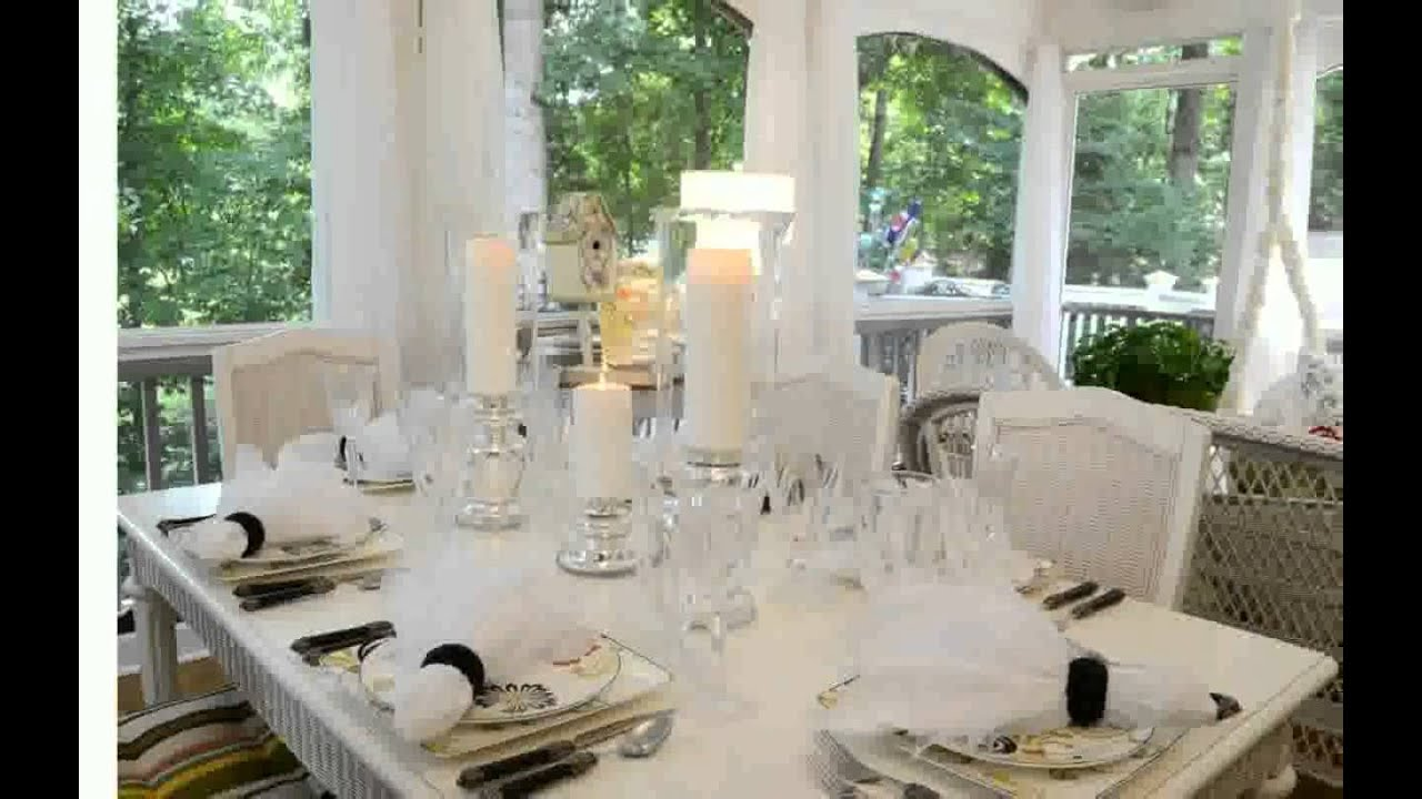 Elegant Table Settings biorada YouTube