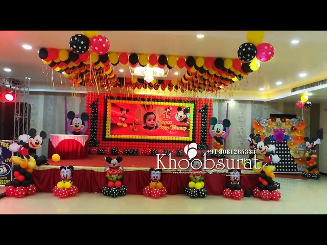 mickey mouse theme at Bahraich by khoobsurart decoration 8081265333