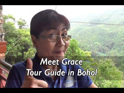 Meet Grace, Bohol Tour Guide