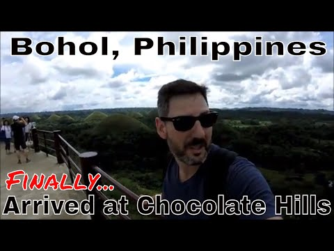 Philippines, Bohol: Arrived at Chocolate Hills--Local Foods and Awesome Views