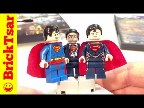 LEGO Clark Kent / Superman Minifigure from LEGO Batman DC Super Heroes Unite