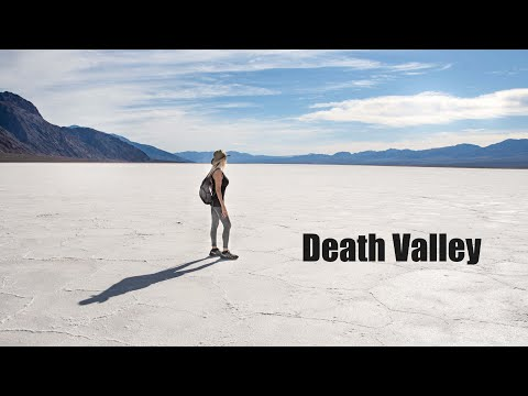 Death Valley National Park Adventure in 4K | Hiking Golden Canyon | Badwater Basin | Mesquite Dunes