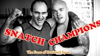 Kettlebell Snatch Champions (Gwardyjskie Mistrzostwa Kettlebell GROM)