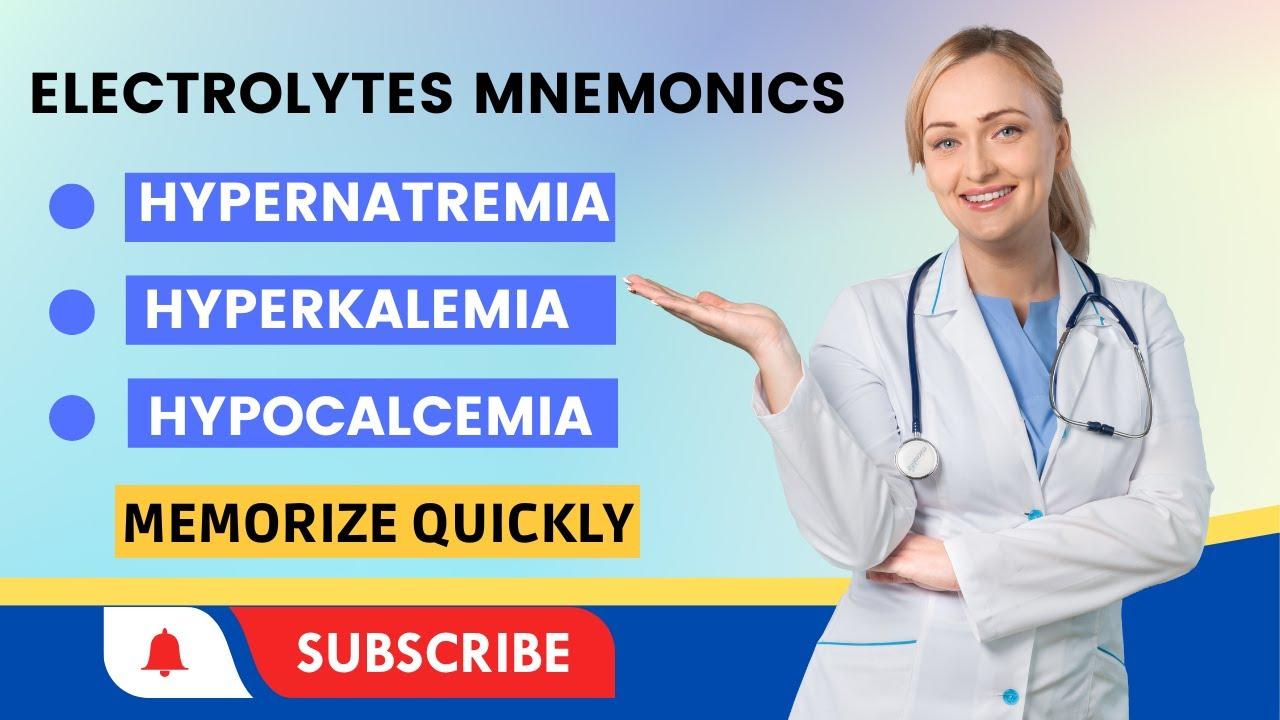 Mnemonics (Electrolytes)