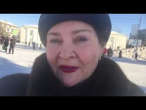 Прогулка в Новоалтайске ! Зима -15 ..супер Погода !!!
