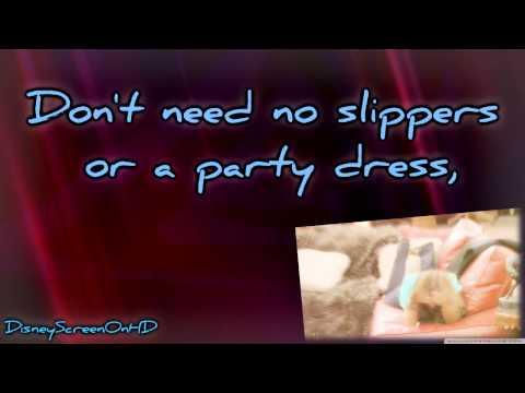 Hannah Montana - Barefoot Cinderella [Lyrics on Screen]