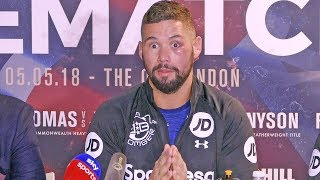 Tony Bellew (HQ) POST FIGHT PRESS CONFERENCE | After Knocking Out David Haye