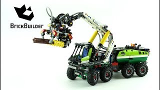 Lego Technic 42080 Forest Harvester - Lego Speed Build