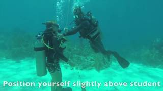 PADI CESA Exercise - Open Water