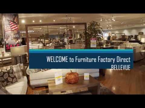 Furniture Factory Direct Bellevue Store Youtube
