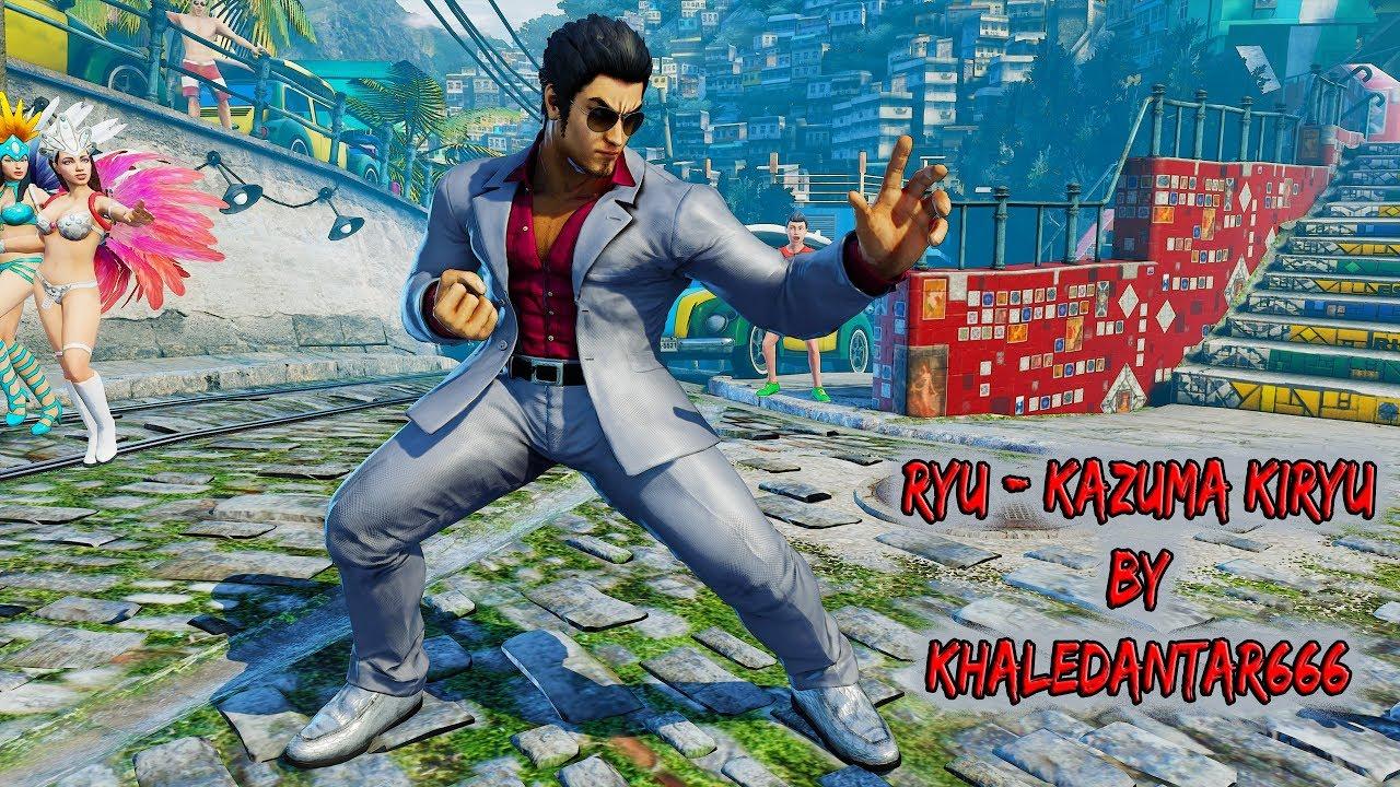 Yakuza's Kazuma Kiryu joins Street Fighter V via fan mod
