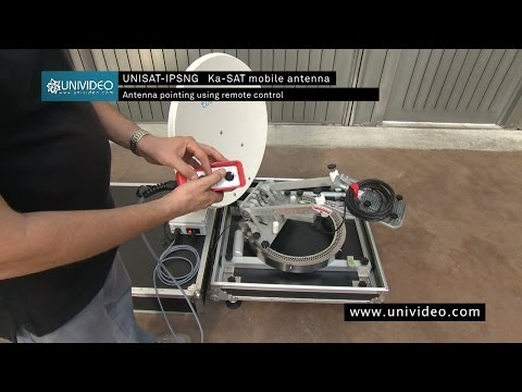 Controlling Dish Position By Motor Using Remote Control