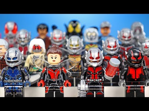 Ant-Man And The Wasp Marvel Superheroes LEGO Minifigure Collection Original & Knockoffs
