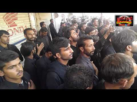 TAIDEY WEHREY WICH HEY AJJ RAHIB NOHA BY ATHAR IN HUSSAINI QAFILO BHITSHAH 2018